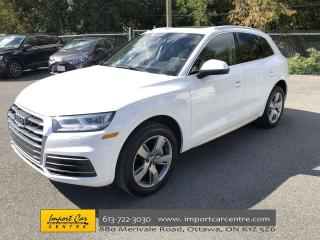 Used 2018 Audi Q5 2.0T Technik LEATHER  PANO ROOF  NAVI  B&O SOUND for sale in Ottawa, ON