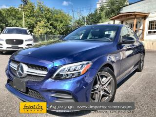 Used 2019 Mercedes-Benz C43 AMG LEATHER  ROOF  NAVI  BLIS  BURMESTER SOUND  360 CA for sale in Ottawa, ON