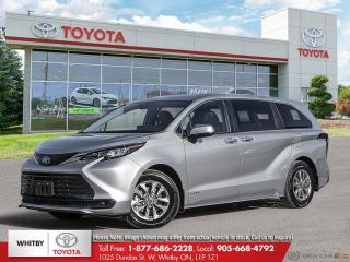 New 2021 Toyota Sienna LE FWD 8 Passenger for sale in Whitby, ON