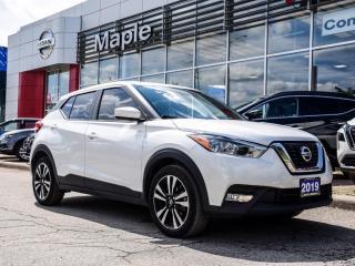 Used 2019 Nissan Kicks SV Apple Carplay Backup Camera Heated Seats for sale in Maple, ON