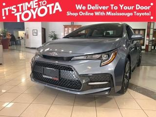 New 2022 Toyota Corolla SE CVT SE Upgrade|APX 00 for sale in Mississauga, ON