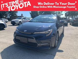 New 2022 Toyota Corolla SE CVT SE Upgrade APX 00 for sale in Mississauga, ON
