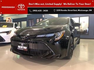 New 2022 Toyota Corolla HATCHBACK CVT Nightshade Edition for sale in Mississauga, ON