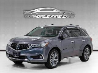 Used 2018 Acura MDX Elite SH-AWD, DVD Theatre Pkg. No Accident for sale in Concord, ON