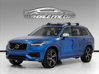 Used 2018 Volvo XC90 T6 AWD R-Design, Pano, Navi, 360 Cam for sale in Concord, ON