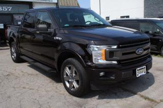 Used 2018 Ford F-150 XLT SPORT SUPER CREW 4WD NAVI. BACK CAM for sale in Mississauga, ON
