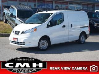 Used 2020 Nissan NV200 SV  CAM BLUETOOTH PWR-GROUP A/C for sale in St. Catharines, ON