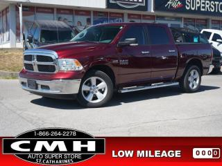 Used 2017 RAM 1500 SLT  HEMI CAM HTD-S/W REM-START TOW-PKG 20-AL for sale in St. Catharines, ON