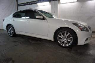 Used 2012 Infiniti G Sedan G37x S AWD LUXRY PKG CERTIFIED 2YR WARRANTY *FREE ACCIDENT* NAVI CAMERA SUNROOF BLUETOOTH MEMORY HEATED ALLOYS for sale in Milton, ON
