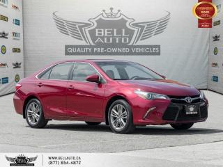 Used 2017 Toyota Camry SE, RearCam, NoAccident, Bluetooth, Leather/Cloth, HeatedSeats for sale in Toronto, ON