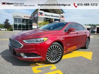 Used 2018 Ford Fusion Energi SE  - Bluetooth -  SiriusXM - $201 B/W for sale in Ottawa, ON