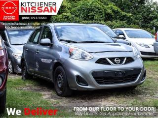 Used 2015 Nissan Micra SV  AS-IS SPECIAL | YOU CERTIFY, YOU SAVE! for sale in Kitchener, ON