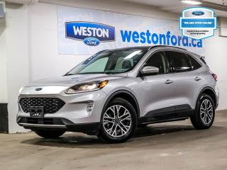 Used 2020 Ford Escape SEL+CAMERA+NAVIGATION+PANORAMIC ROOF+HEATED STEERING WHEEL for sale in Toronto, ON