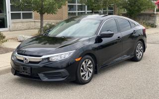 Used 2016 Honda Civic Sedan EX for sale in Brampton, ON