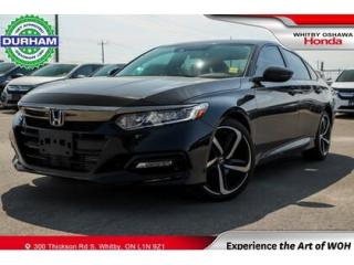 Used 2020 Honda Accord Sport | CVT | Power Moonroof for sale in Whitby, ON