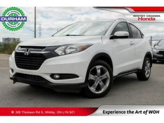 Used 2017 Honda HR-V w/Navigation Leather Sunroof Backup Camera for sale in Whitby, ON
