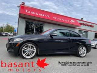 Used 2017 BMW 2 Series M Sport PKG, Sunroof, Backup Cam, Low KMs!! for sale in Surrey, BC