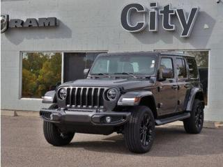 New 2021 Jeep Wrangler Sahara   Leather   Tow   Headliner   Adv Safety#90 for sale in Medicine Hat, AB