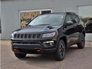 New 2021 Jeep Compass Trailhawk   Heated Seats & Wheel  Remote Start#140 for sale in Medicine Hat, AB