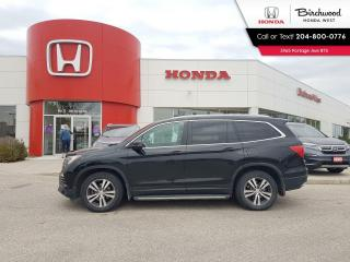 Used 2016 Honda Pilot EX-L Leather - Apple CarPlay - Android Auto - Heated Seats - Bluetooth for sale in Winnipeg, MB