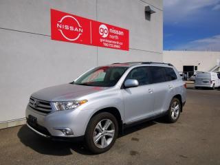 Used 2012 Toyota Highlander 4WD/V6/7-PASSENGER/HEATED SEATS/SUNROOF for sale in Edmonton, AB