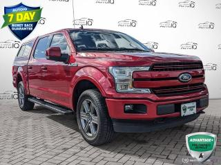 Used 2020 Ford F-150 Lariat | CLEAN CARFAX | ONE OWNER | LEATHER | HEATED AND VENTED SEATS | ALLOYS | for sale in Barrie, ON