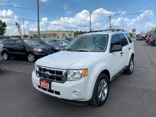 Used 2012 Ford Escape XLT,4X4 for sale in Hamilton, ON