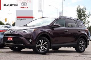 Used 2018 Toyota RAV4 XLE, HEATED SEATS, SUNROOF, LANE KEEP ASSIST, ADAPTIVE CRUISE CONTROL, BACK-UP CAMERA, BLUETOOTH for sale in Orangeville, ON