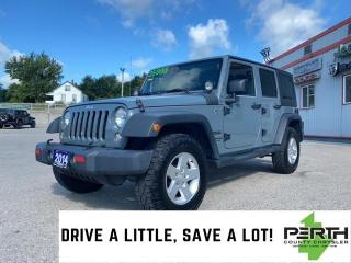 Used 2014 Jeep Wrangler Unlimited Sport | Auto | AC | Power Windows | for sale in Mitchell, ON
