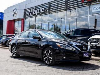 Used 2017 Nissan Altima 2.5 SR Bluetooth Backup Camera Power Seats Alloys for sale in Maple, ON