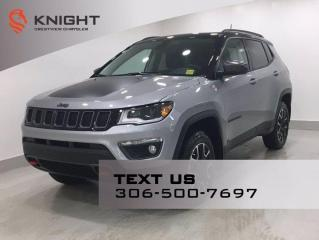 New 2021 Jeep Compass Trailhawk Elite 4x4   Leather   Navigation   Sunroof   for sale in Regina, SK