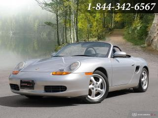 Used 1998 Porsche Boxster 2dr Roadster Manual   CLEAN CARFAX   5 SPD for sale in Oakville, ON