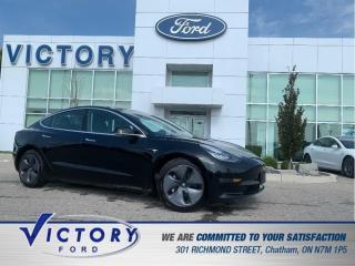 Used 2019 Tesla Model 3 Standard Range Plus | AUTOPILOT | NAV | GLASS ROOF for sale in Chatham, ON