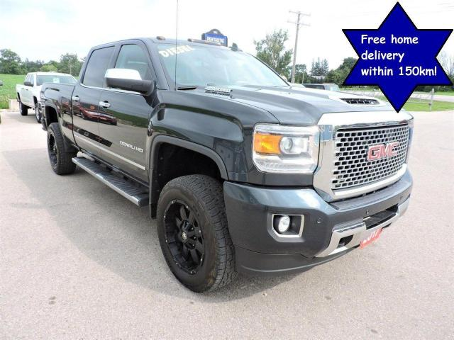 2017 GMC Sierra 2500 Denali 1owner Sunroof Navigation Well maintained