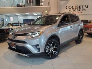 Used 2016 Toyota RAV4 SE-AWD-SPORT-LEATHER-SUNROOF-NAVI-CAMERA for sale in Toronto, ON