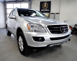 Used 2006 Mercedes-Benz M-Class ONE OWNER 0 CLAIM GAS ENGINE for sale in North York, ON