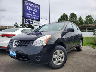 Used 2010 Nissan Rogue S, LOCAL, ACCIDENT FREE for sale in Surrey, BC