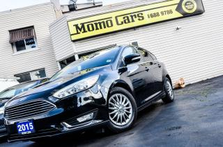 Used 2015 Ford Focus Titanium + HIGHEST TRIM LEVEL! + Leather! for sale in St. Catharines, ON