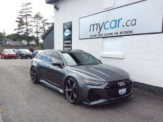 Used 2021 Audi RS 6 Avant 4.0T LOADED RS6, SERIOUS INQUIRIES ONLY!! for sale in Richmond, ON