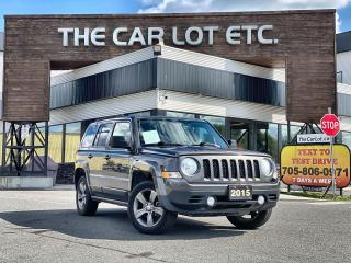 Used 2015 Jeep Patriot Sport/North 4X4 for sale in Sudbury, ON