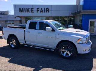 Used 2012 RAM 1500 Sport Dusk Sensing Headlamps,Stability Control,Tire Pressure Monitor, Turn Signal Mirrors for sale in Smiths Falls, ON