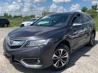 Used 2016 Acura RDX Elite Pkg.Navi.Cam.BlindSpot.RadarCruise for sale in Kitchener, ON
