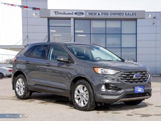 New 2021 Ford Edge Titanium | 0% APR | ROOF | TOW | TOURING PKG | for sale in Winnipeg, MB