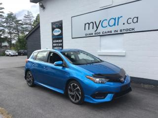 Used 2017 Toyota Corolla iM BACKUP CAM. HEATED SEATS. POWER GROUP. A/C. for sale in Richmond, ON