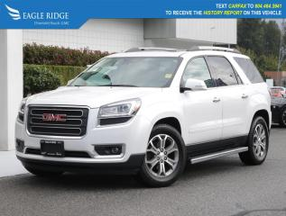 Used 2016 GMC Acadia SLT2 Navigation, Leather, Heated Seats for sale in Coquitlam, BC