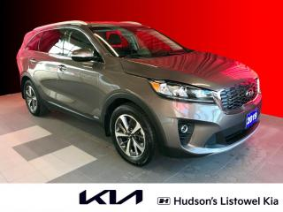 Used 2019 Kia Sorento 3.3L EX Leather Seats | UVO Intelligence | Wireless Phone Charger for sale in Listowel, ON