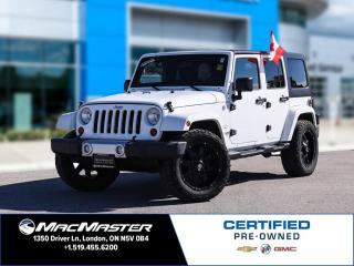 Used 2012 Jeep Wrangler Unlimited Sahara for sale in London, ON