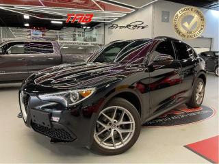 Used 2018 Alfa Romeo Stelvio TI SPORT I 20 IN WHEELS I RED LTHR I COMING SOON for sale in Vaughan, ON