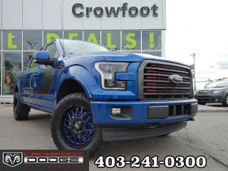 Used 2017 Ford F-150 Lariat SuperCrew 4x4 for sale in Calgary, AB