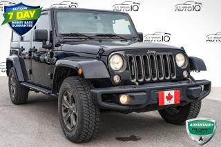 Used 2018 Jeep Wrangler JK Unlimited Sport 75TH ANNIVERSARY SAHARA | DUAL TOP for sale in Innisfil, ON